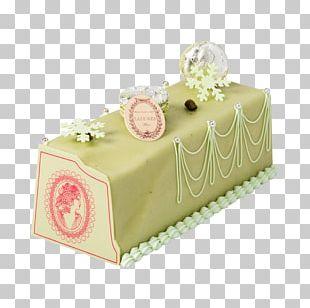 Ladurée Yule Log Torte Christmas Cake PNG