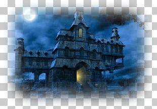 Haunted House Desktop Ghost PNG