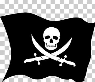 Jolly Roger Golden Age Of Piracy Flag PNG