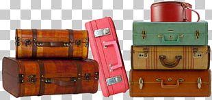 Suitcase Baggage Samsonite Travel Trunk PNG