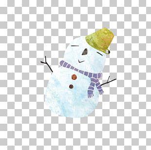 Winter Snowman PNG
