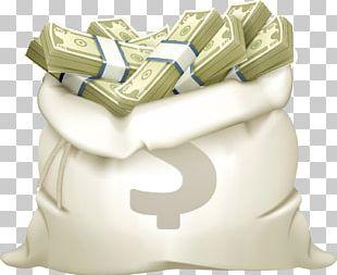 Money Bag Coin Illustration PNG