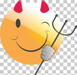 Smiley Emoticon Sign Of The Horns PNG