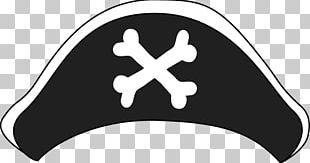 Pirate Hat Bones PNG