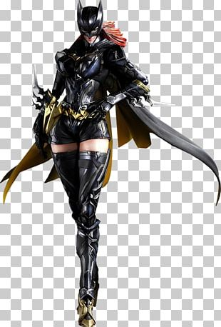 Batgirl Batman. Variant Barbara Gordon DC Comics Variant Play Arts Kai Action Figure PNG