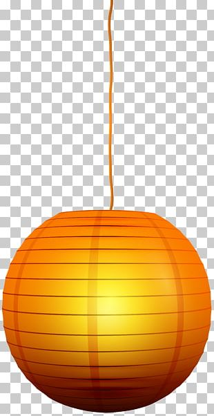 Calabaza Orange Pumpkin Pattern PNG