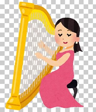 Celtic Harp Musical Instruments String Instruments Plucked String Instrument PNG