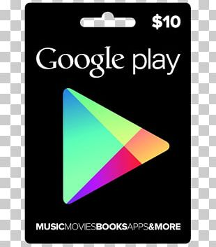Google Play Gift Card Android Credit Card PNG
