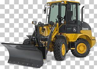 John Deere Bulldozer Skid-steer Loader Heavy Machinery PNG
