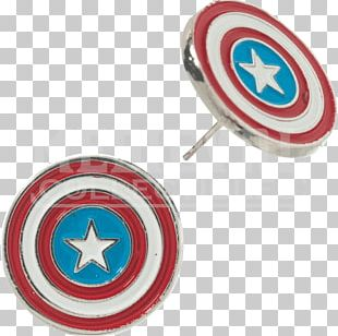 Earring Captain America Spider-Man Iron Man Body Jewellery PNG