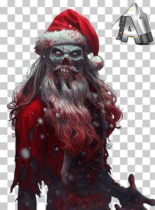 Santa Claus Christmas Evil Rudolph PNG