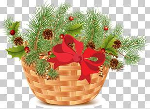 Christmas Ornament Santa Claus Gift Holiday PNG