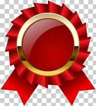 Ribbon Award Medal PNG