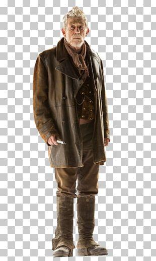 War Doctor Leather Jacket Coat PNG