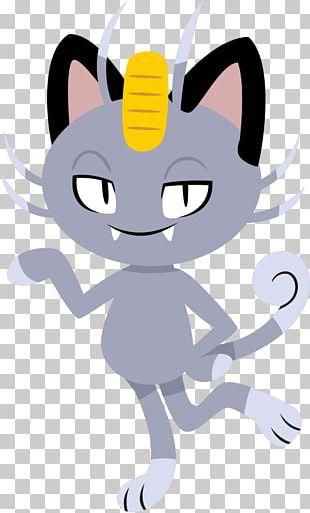 Whiskers Meowth Pokémon Sun And Moon Kitten PNG