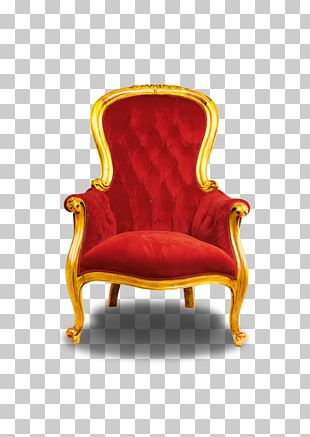 Chair Throne Seat Stool PNG