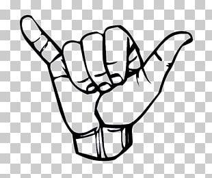 American Sign Language Shaka Sign Y Irish Sign Language PNG