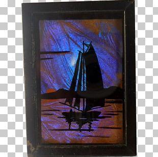 Frames Window Glass Blue PNG