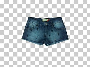 Jeans Denim T-shirt Shorts Pocket PNG