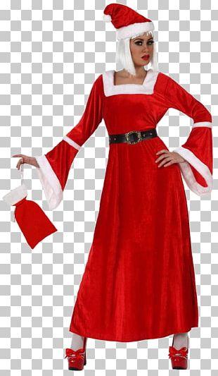 Mrs. Claus Santa Claus Dress Suit Costume PNG