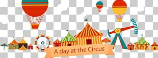 Circus Traveling Carnival Clown Illustration PNG