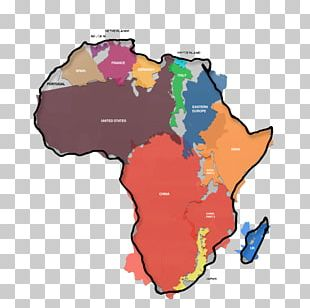 Africa World Map Geography United States PNG