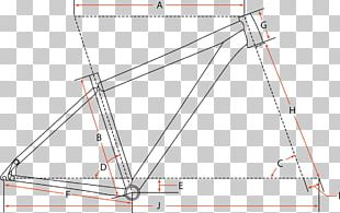 Bicycle Frames Geometry Triangle Bicycle Forks PNG