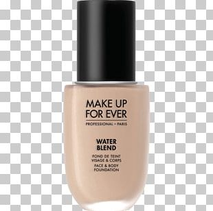 Cosmetics MAKE UP FOR EVER Water Blend Face & Body Foundation Make-up PNG