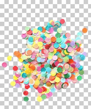 Paper Confetti Party Balloon Wedding PNG