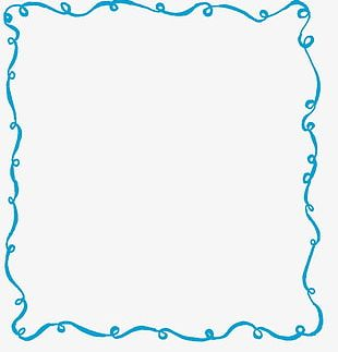 Hand-painted Hand-painted Frame PNG