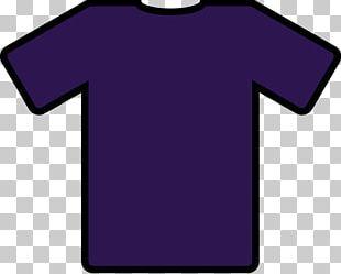 T-shirt Navy Blue Jersey PNG
