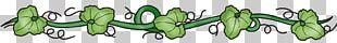 Leaf Line Art Graphics Grasses Design PNG