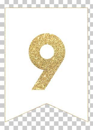 Letter Alphabet Gold Paper Font PNG