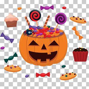Halloween Children's Party Flyer PNG