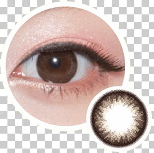 Cat's Eye Circle Contact Lens Contact Lenses Color PNG