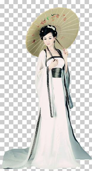 Costume Oil-paper Umbrella PNG