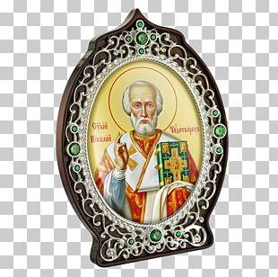 Thaumaturgy Святитель Saint Nicholas Day Christmas Ornament Icon PNG
