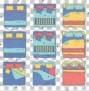 Bedding Bed Sheet Pillow PNG