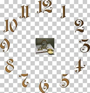 Clock Face Drawing PNG