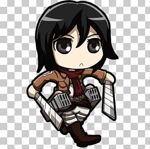 Eren Yeager A.O.T.: Wings Of Freedom Attack On Titan Chibi Mikasa Ackerman PNG