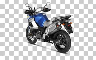 Exhaust System Yamaha XT1200Z Super Ténéré Yamaha Motor Company Akrapovič PNG