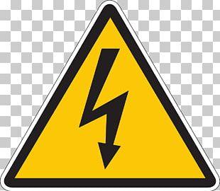High Voltage Electricity Symbol PNG