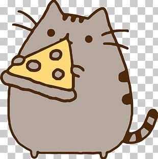 Pizza Pizza Pusheen Eating Cat PNG
