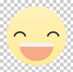 Smiley Nose Text Messaging Line Font PNG