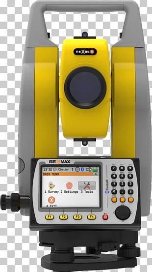 Total Station Computer Software Surveyor Measurement Technology PNG
