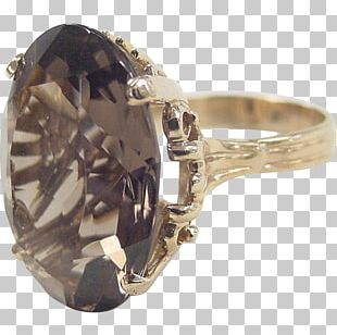 Ring Gold Body Jewellery Smoky Quartz Silver PNG