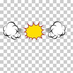 Bubble Cloud Explosion PNG