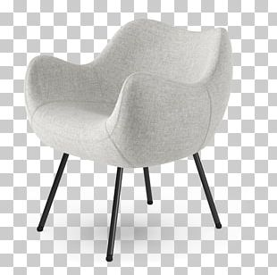 Wing Chair Furniture Table Living Room PNG