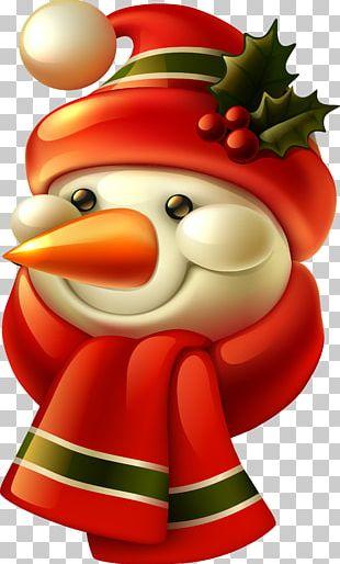 Santa Claus Candy Cane Christmas Holiday Gift PNG