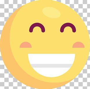Smiley Circle Cartoon Text Messaging Font PNG